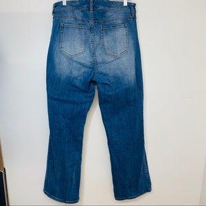 Torrid Jeans - Torrid Denim 18 Boot Cut Distressed Stretch P67
